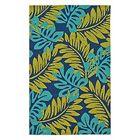 Kaleen Yunque Laguna Leaf Indoor Outdoor Rug
