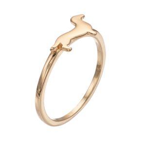 LC Lauren Conrad Daschund Ring