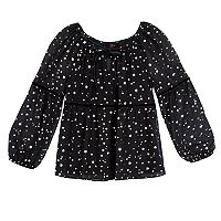 Girls 7-16 & Plus Size IZ Amy Byer Foil Star Printed Top