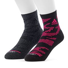 Men's adidas 2-pack Tiger climalite High Quarter Socks