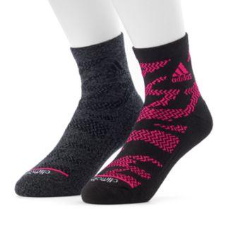 Men's adidas 2-pack Tiger climalite High Quarter Socks