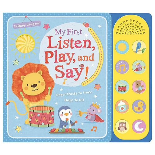 My First Listen Play And Say Book