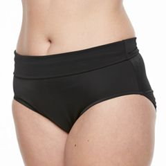 Plus Size Trimshaper High-Waisted Brief Bottoms