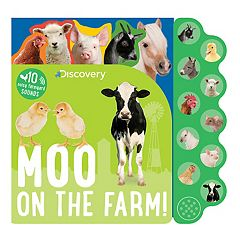 Discovery Kids Moo On The Farm Book