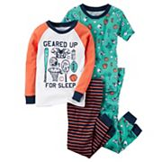 Baby Boy Carter's 4 pc Tops & Pants Pajama Set