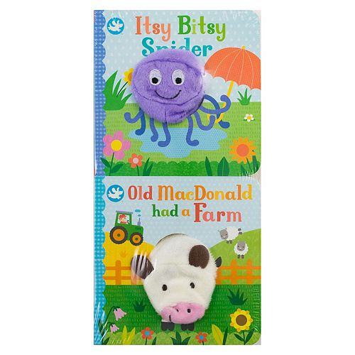 Itsy Bitsy Spider & Old MacDonald 2-piece Book Set