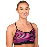 Danskin Bras: Mesh Back Low-Impact Sports Bra 6651