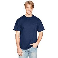 Men's Hanes Beefy Crewneck Pocket Tee