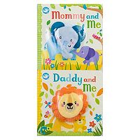 Mommy And Me / Daddy And Me 2 pc Book Set