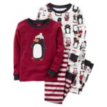 Baby Boy Carter's 4-pc. Animal Tops & Pants Pajama Set