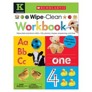 Kindergarten Wipe Clean Workbook