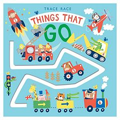 Trace Race: Things That Go Book