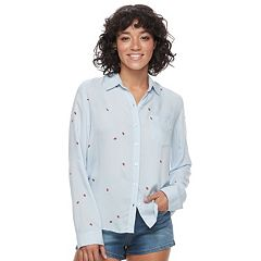 Juniors' SO® Print Shirt