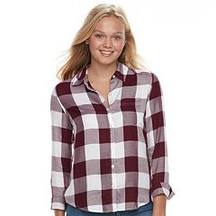 Juniors' SO® Print Shirt