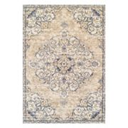 Couristan Vintage Antique Ardebil Framed Floral Rug