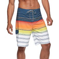 Men's Trinity Collective Striped Board Shorts