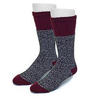 Men's Croft & Barrow® 2-pack Marled Crew Socks