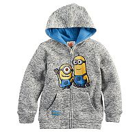 Boys 4-7 Despicable Me Minions Marled Zip Hoodie