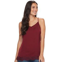 Women's SONOMA Goods for Life™ Satin Lace Cami