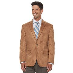 Big & Tall Chaps Classic-Fit Faux-Suede Stretch Sport Coat