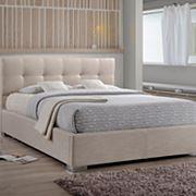 Baxton Studio Regata Tufted Upholstered Bed