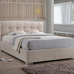 Baxton Studio Regata Tufted Upholstered Bed