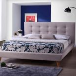 Baxton Studio Jonesy Upholstered Bed