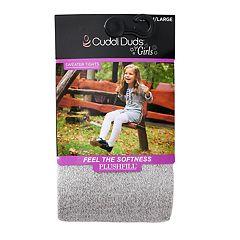 Girls 4-16 Cuddl Duds Plushfill Sparkle Sweater Tights