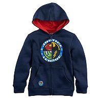 Boys 4-7 DC Comics Justice League Superman, Batman, The Flash & Green Lantern Zip Hoodie
