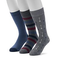 Men's SONOMA Goods for Life™ 3-pack Casual Crew Socks
