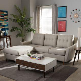 Baxton Studio Mckenzie Sectional Sofa