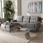 Baxton Studio Mckenzie Sectional Sofa