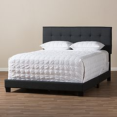 Baxton Studio Brookfield Upholstered Bed