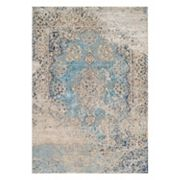 Couristan Vintage Antique Tabriz Framed Floral Rug