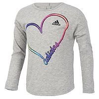 Girls 7-16 adidas Long Sleeve All Star Tee