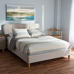 Baxton Studio Laureo Upholstered Bed