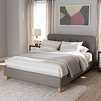 Baxton Studio Laureo Upholstered Bed