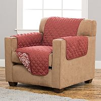 Home Fashion Designs Kingston Stain Resistant Chair Slipcover