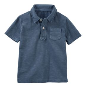 Boys 4-12 OshKosh B'gosh® Solid Slubbed Polo