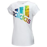 Girls 7-16 adidas Short Sleeve Colors Ignite tee