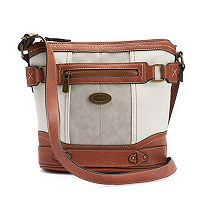 Concept Plattsburg Tri-Tone Crossbody Bag