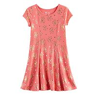 Disney Princess Girls 4-7 Foil Castle Skater Dress by Jumping Beans®