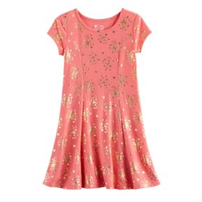 Disney Princess Girls 4-7 Foil Castle Skater Dress by Jumping Beans®
