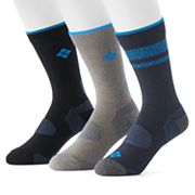Men's Columbia Casual Balance Point Crew Socks