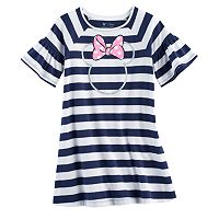 Disney's Minnie Mouse Toddler Girl Striped Shift Dress by Jumping Beans®