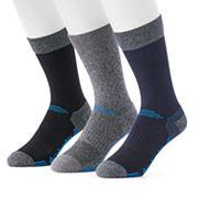 Men's Columbia 3-pack Striped Crew Socks