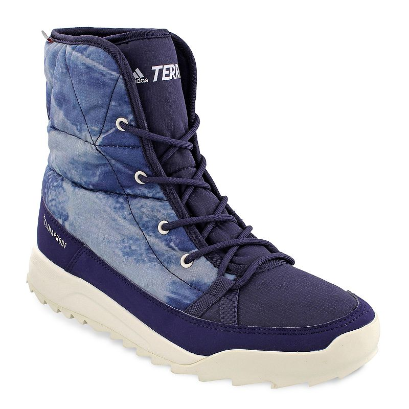 ea4742a3e0cd3 Adidas Outdoor Terrex Choleah Padded CP Women's Waterproof Winter Ankle  Boots, Size: 9, Med Blue