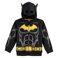 Boys 4-7 DC Comics Batman Mask Zip Hoodie