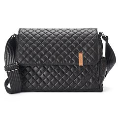 Donna Sharp Pauline Quilted Satchel