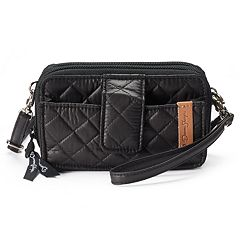 Donna Sharp Missy Quilted Convertible Crossbody Cell Phone Bag